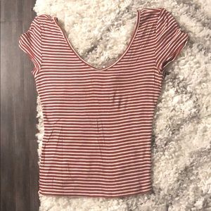 Express striped shirt